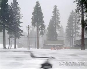 Off Season.  Homewood Ski Resort.  Lake Tahoe, California.