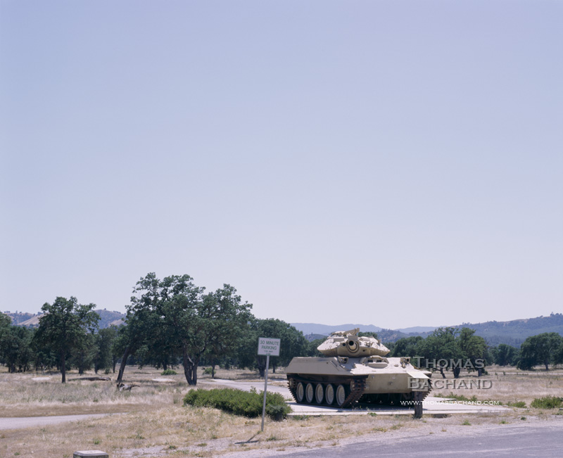 Sherman Tank. California.