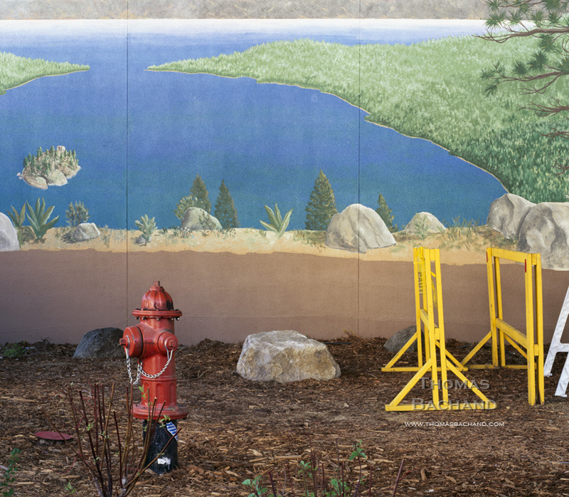 Mural. Stateline, Nevada.