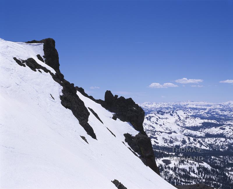 Red Lake Peak. Carson Pass. California.