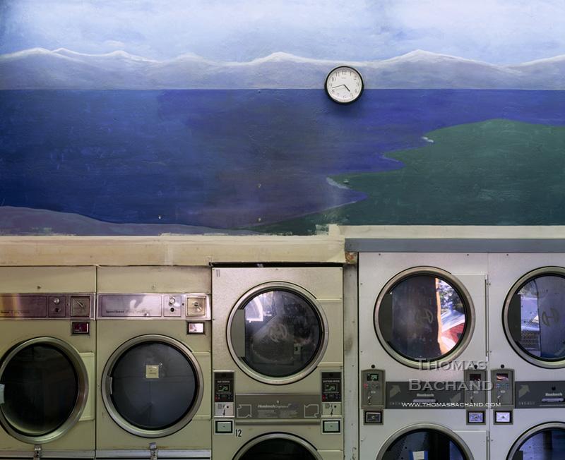 Laundromat. Tahoma, California.