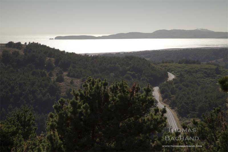 Limantour Road. Point Reyes National Seashore. California.