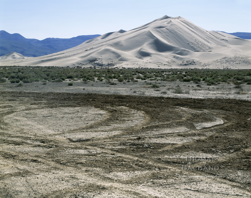 Off road damage. Death Valley National Park, California