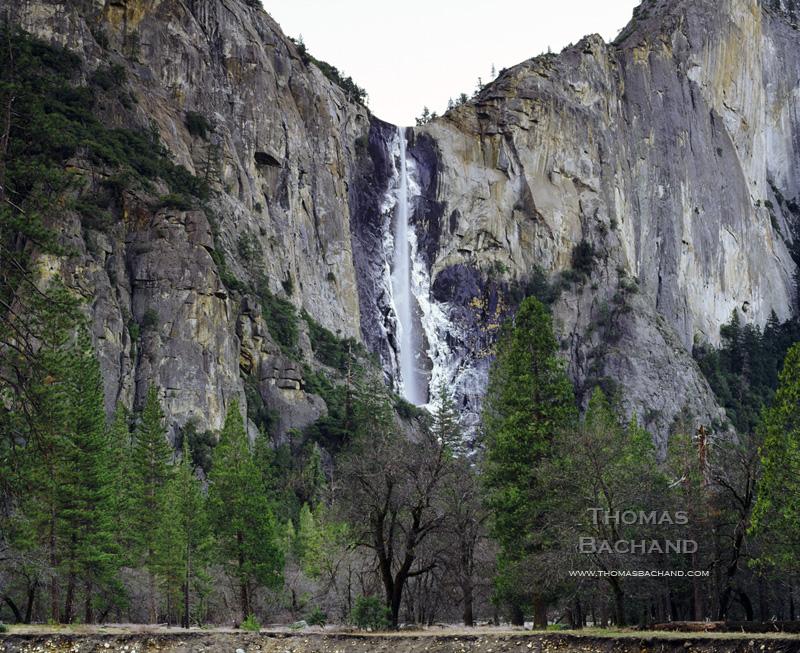 Bridalveil Falls. Yosemite National Park.