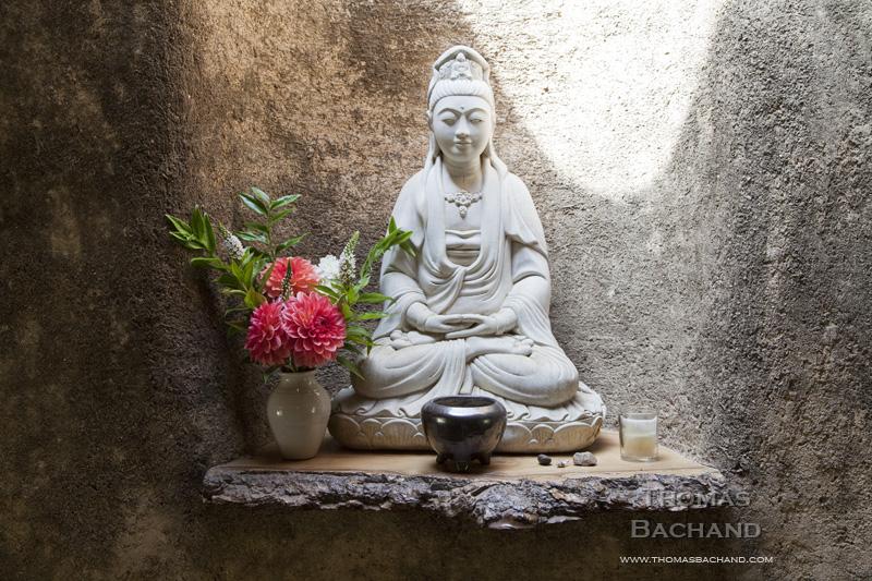 Meditation. Green Gulch Zen Center.