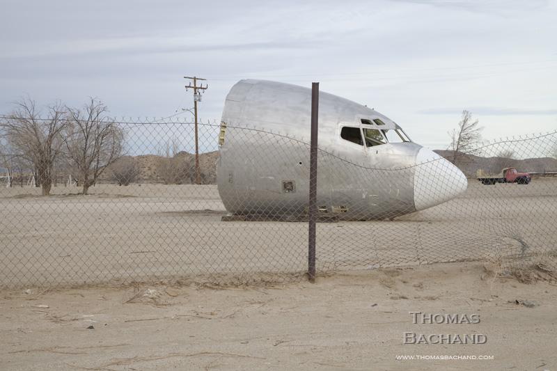 Aircraft Nose. California.