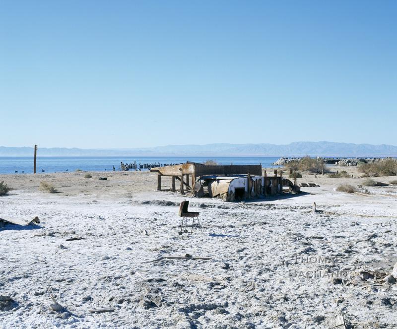 Barbeque. Salton Sea, California.