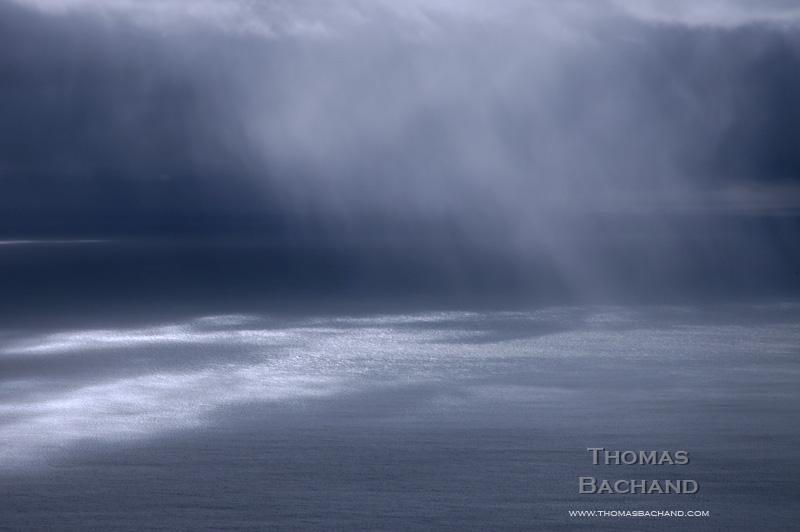 Rain Curtain. Mount Tamalpais.