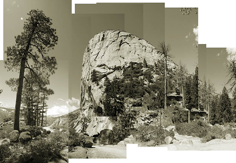 Mt. Broderick. Yosemite National Park. From the Digital History Series.