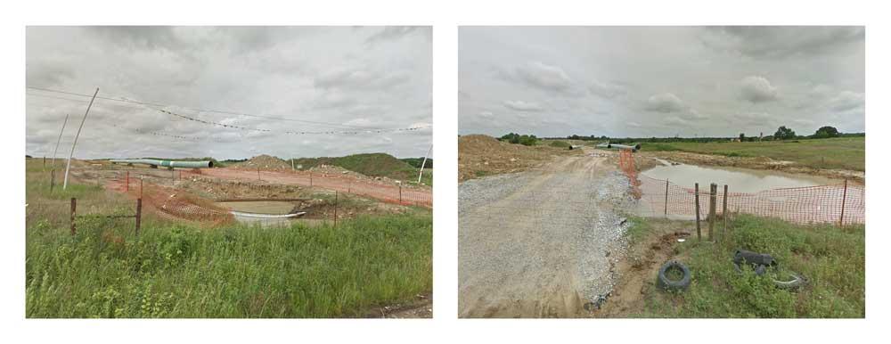 Crossings.  Centrahoma, Oklahoma.
