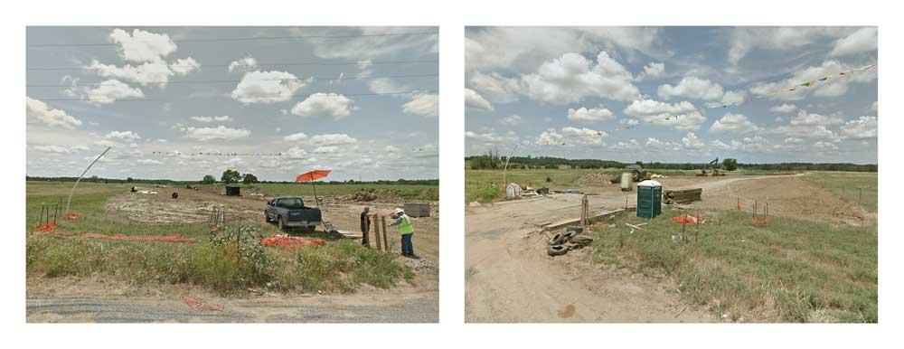 Crossings.  Wewoka, Oklahoma.