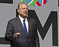 Vice President Al Gore. Global Climate Action Summit 2018. San Francisco, California.